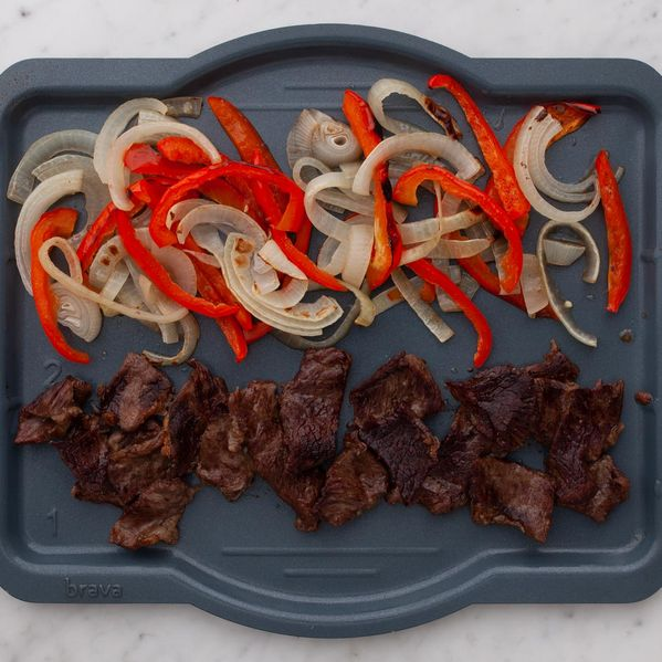Stir Fry Beef with Onions and Peppers narrow display