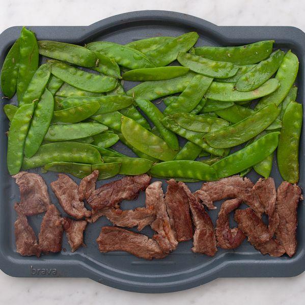 Stir Fry Beef and Snow Peas narrow display