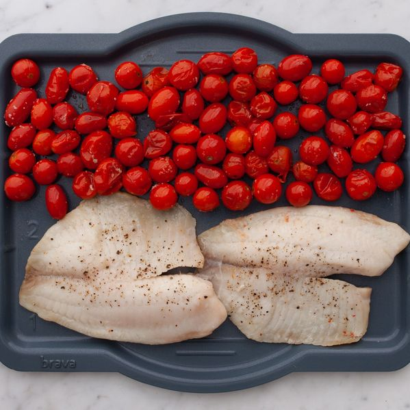 Tilapia and Cherry Tomatoes narrow display