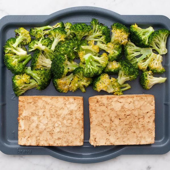 Tofu and Broccoli narrow display