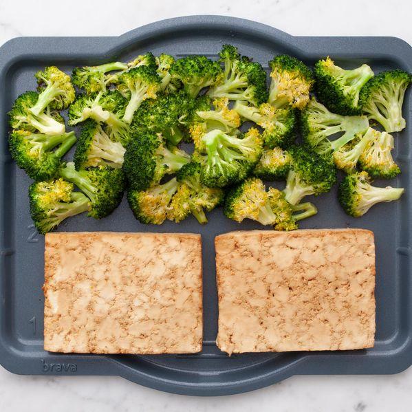 Tofu and Broccoli narrow display