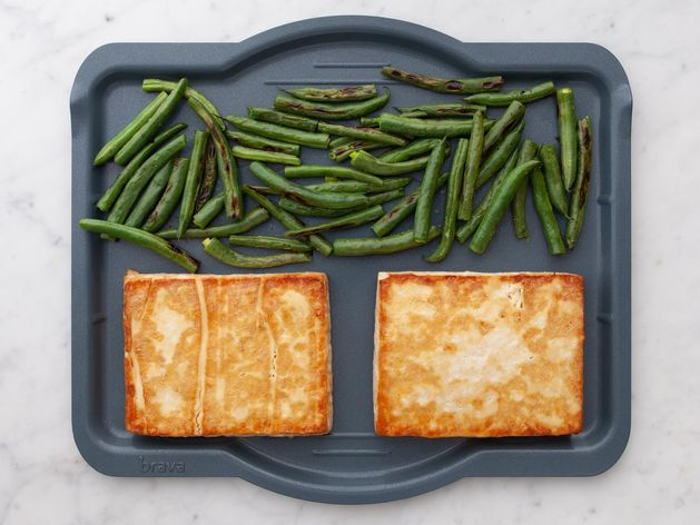 Tofu and Green Beans wide display