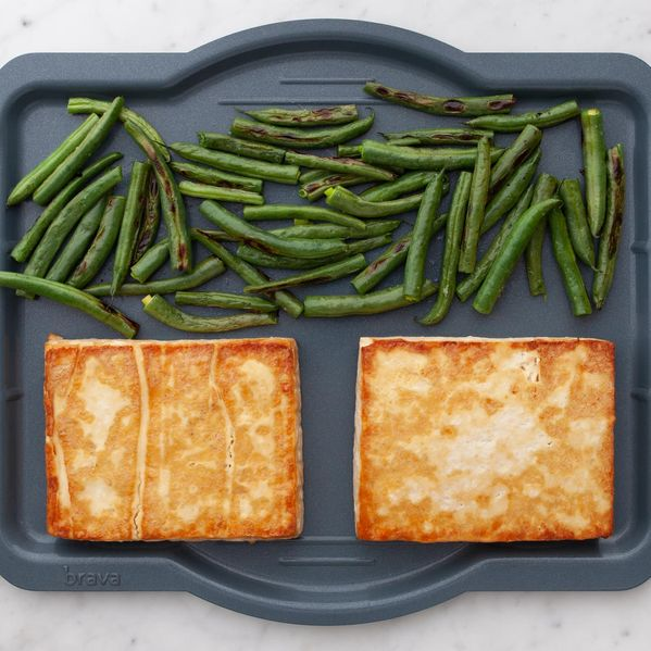 Tofu and Green Beans narrow display