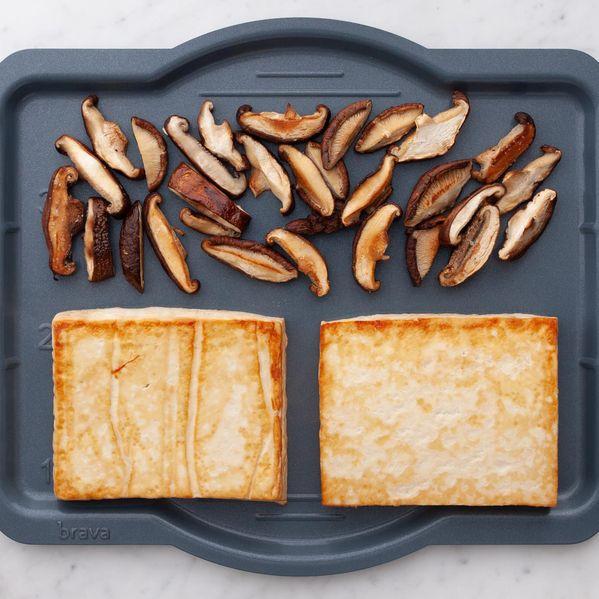 Tofu and Shiitake Mushrooms narrow display