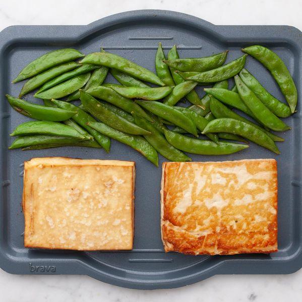 Tofu and Snap Peas narrow display