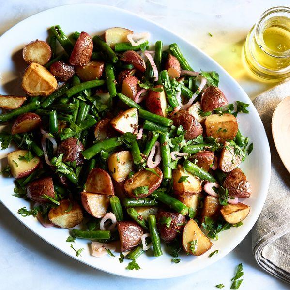 Red Potato & Green Bean Salad narrow display