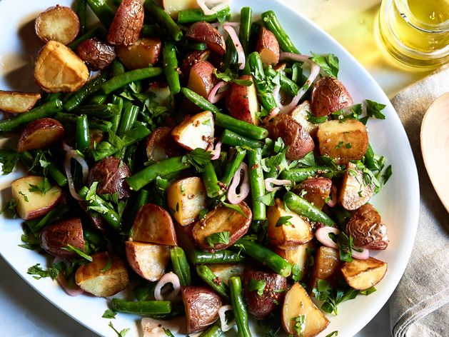 Red Potato and Green Bean Salad wide display