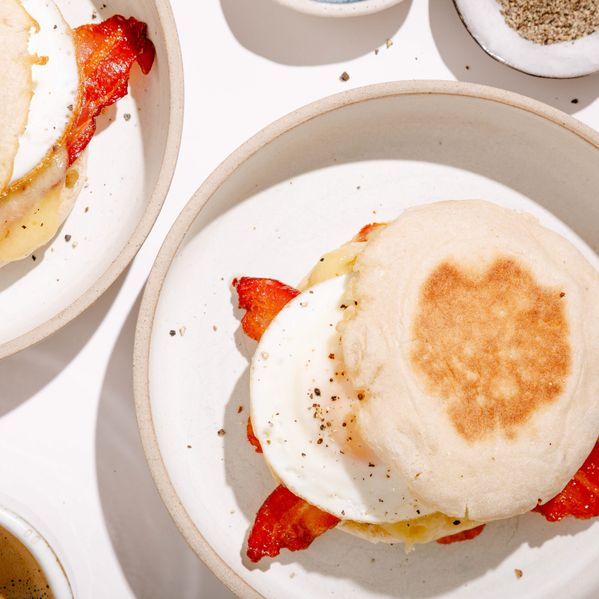 Bacon, Egg, and Cheese Breakfast Sandwich narrow display