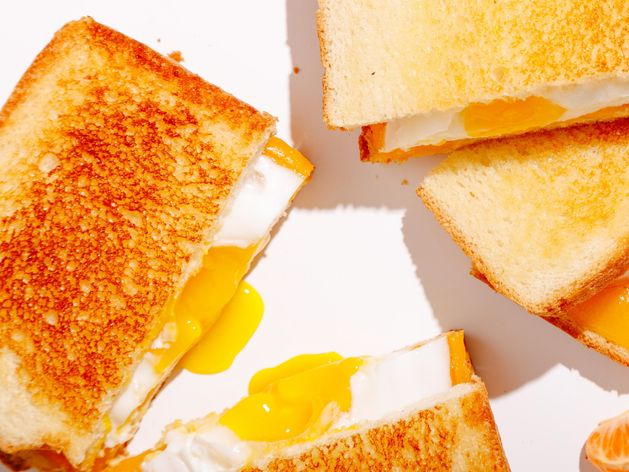 Egg & Cheese Breakfast Sandwich wide display