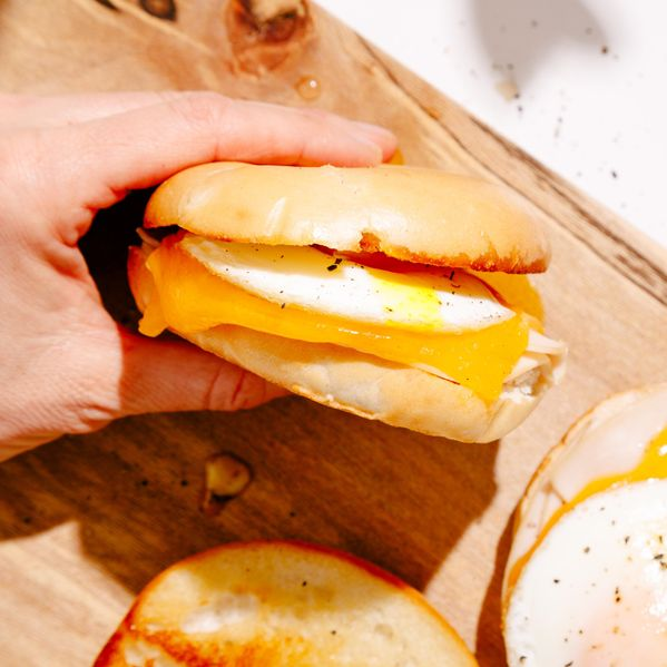 Turkey, Egg, and Cheese Breakfast Sandwich narrow display