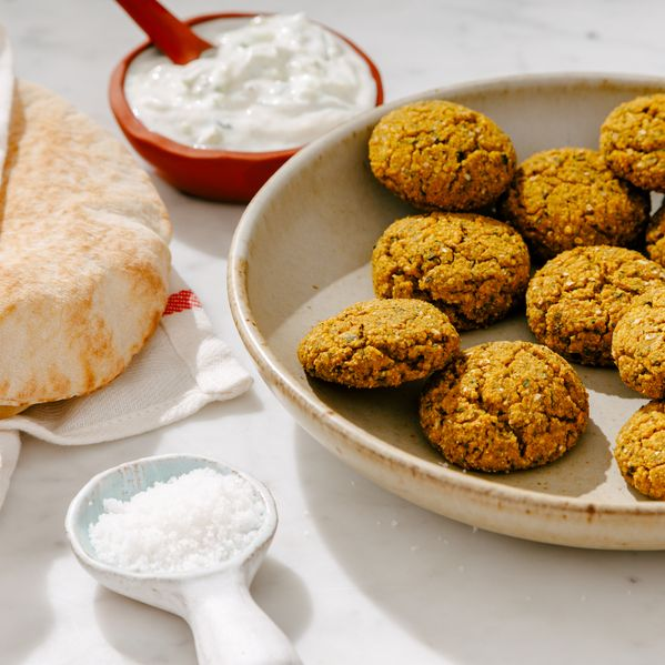 Crispy Baked Falafel narrow display
