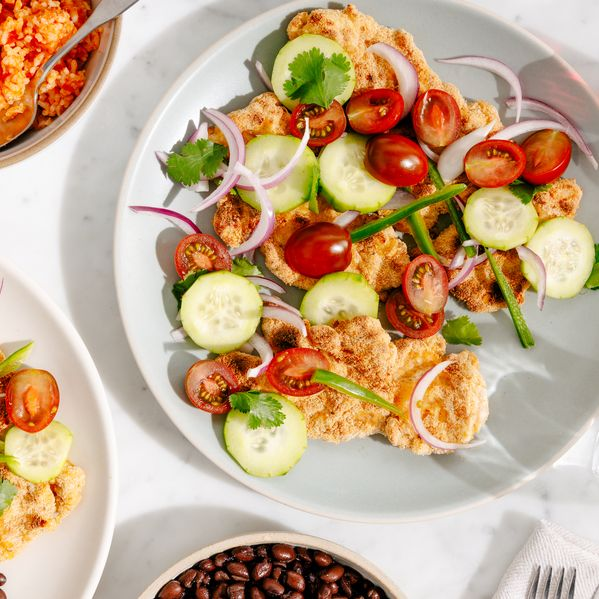 Crispy Mexican Chicken Cutlets narrow display