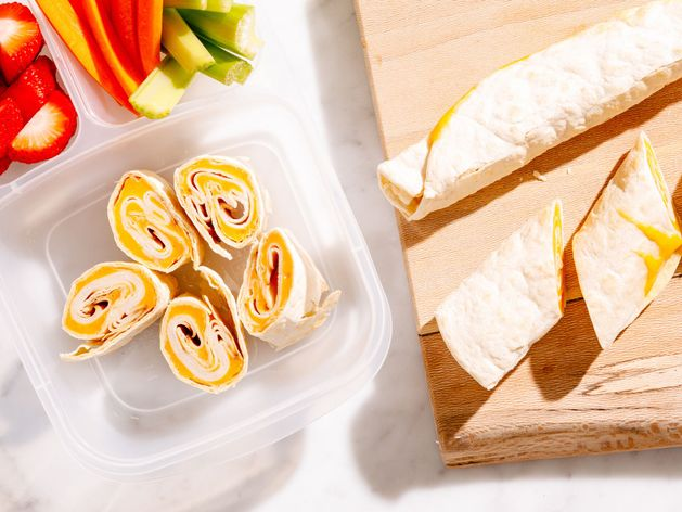 Lunchbox Roll Ups wide display