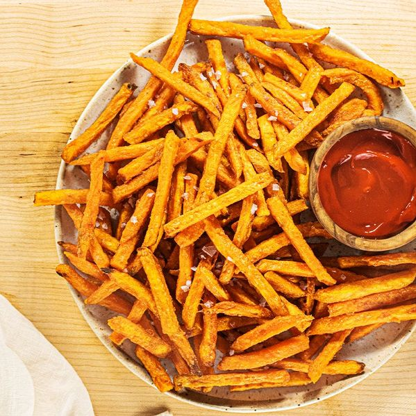 Sweet Potato Fries with Maple Chipotle Ketchup narrow display