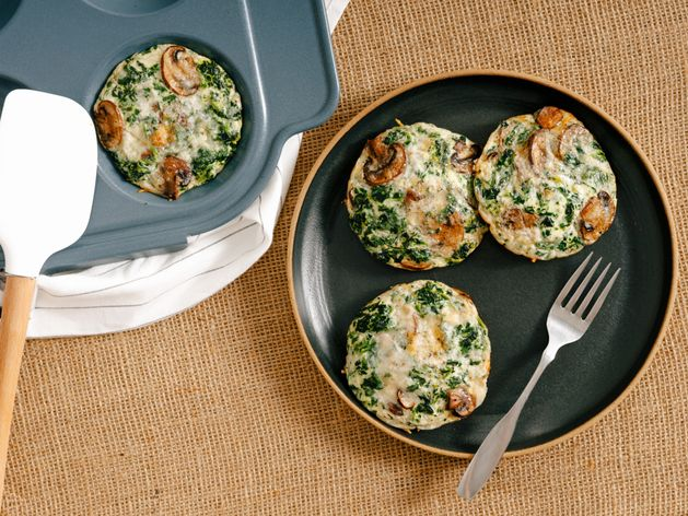 Egg White Frittatas wide display