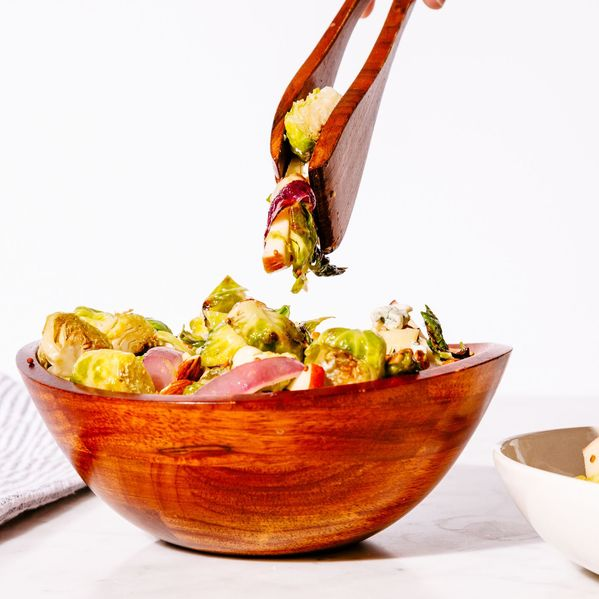 Roasted Brussels Sprout and Apple Salad narrow display