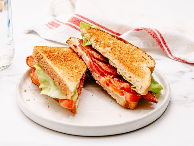 BLT (Bacon, Lettuce and Tomato Sandwich) wide display