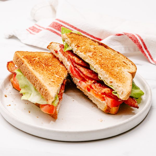 BLT (Bacon, Lettuce and Tomato Sandwich) narrow display