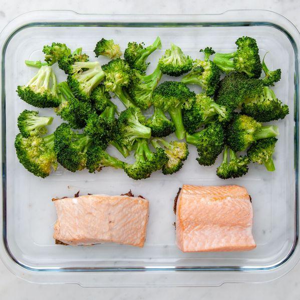 Salmon (Skinless) and Broccoli narrow display