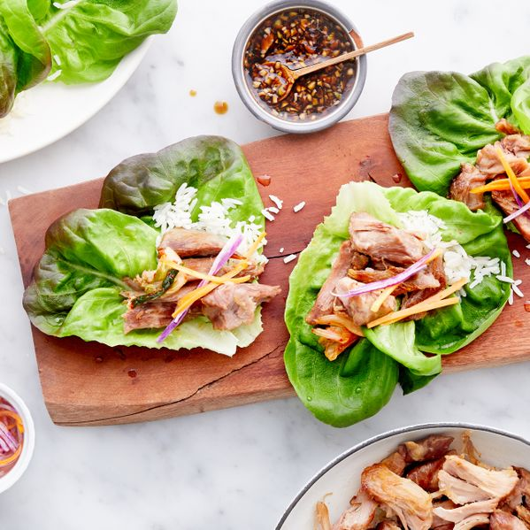 Korean Pork Lettuce Cups narrow display