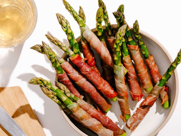 Prosciutto-Wrapped Asparagus wide display