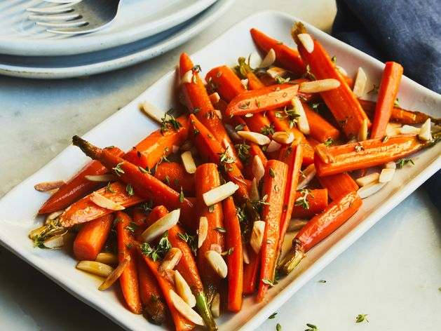 Roasted Carrots wide display