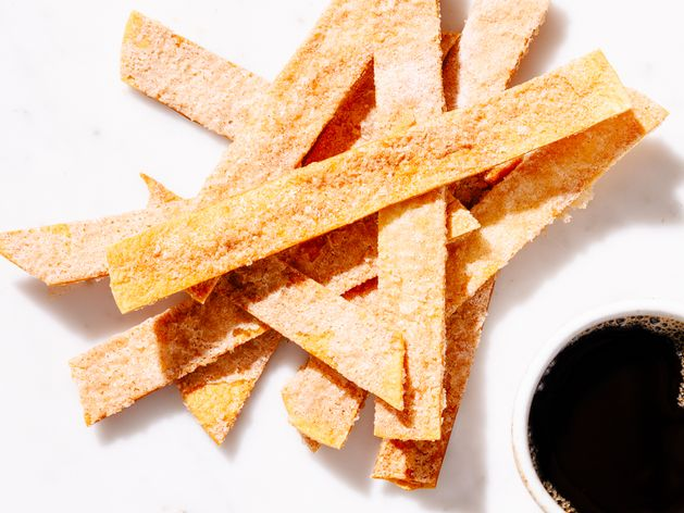 Cinnamon Sugar Tortilla Crisps