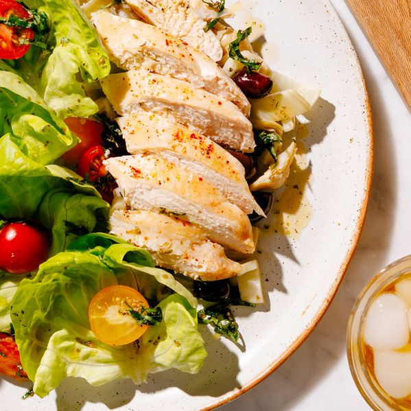 Mediterranean Chicken Salad narrow display