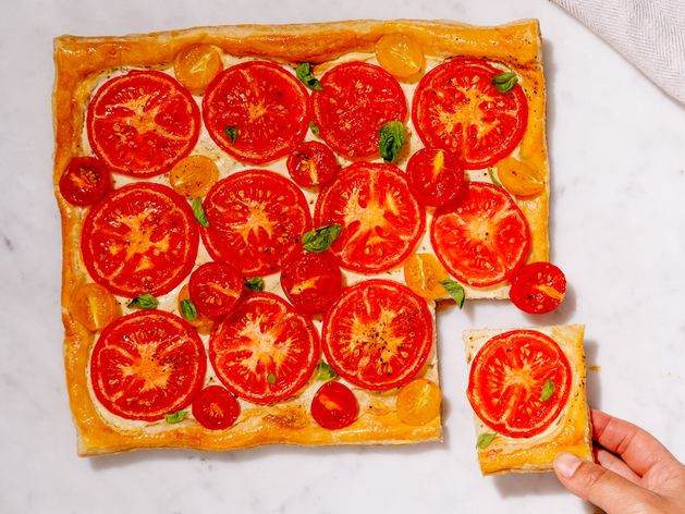 Tomato Galette wide display