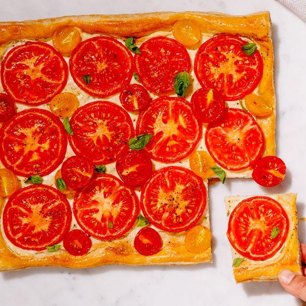 Tomato Galette narrow display