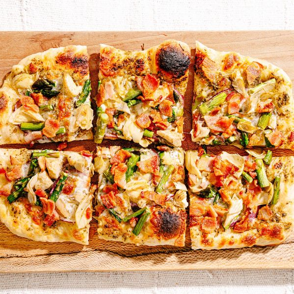 Spring Flatbread Pizza narrow display