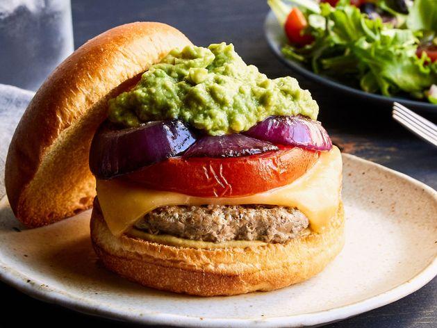 The California Turkey Burger