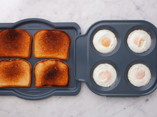 Eggs and White Toast
