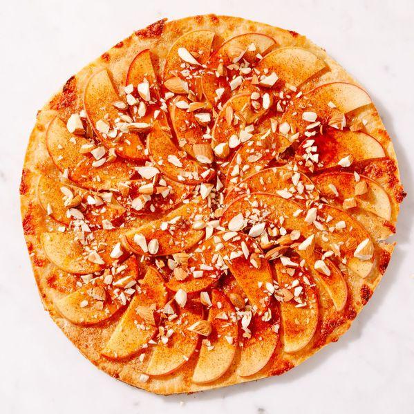 Apple Dessert Pizza narrow display