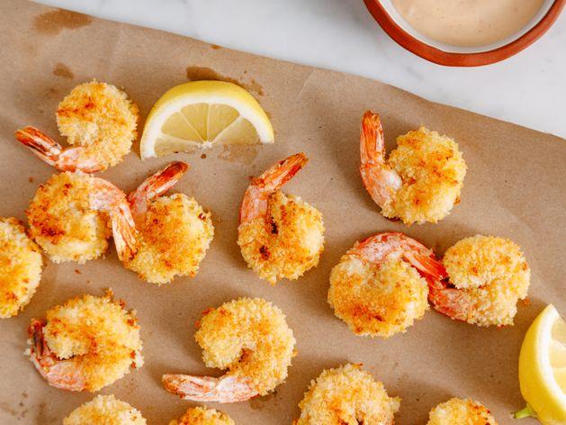 Oven-Fried Shrimp wide display