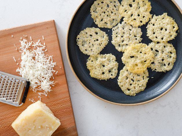 Parmigiano Reggiano Crisps wide display