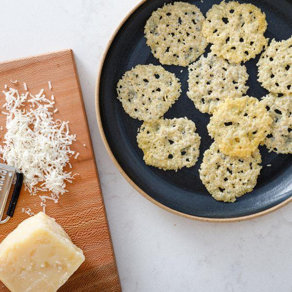 Parmigiano Reggiano Crisps narrow display