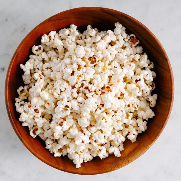 Popcorn narrow display