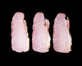 Porter Road Pork Back Bacon narrow display