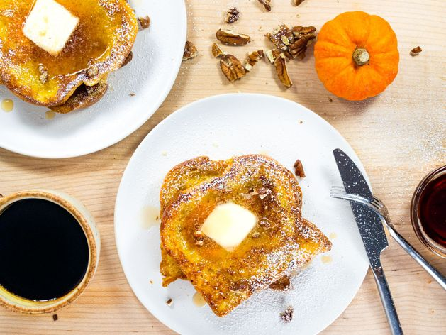 Pumpkin French Toast wide display