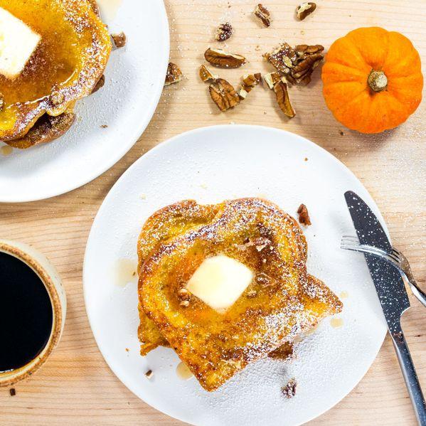 Pumpkin French Toast narrow display