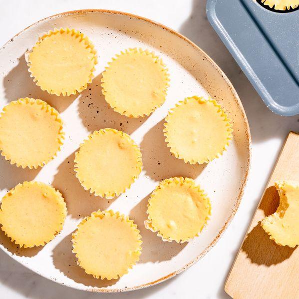 Mini Pumpkin Cheesecakes narrow display