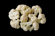 Cauliflower wide display