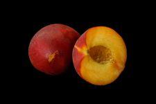 Peaches narrow display