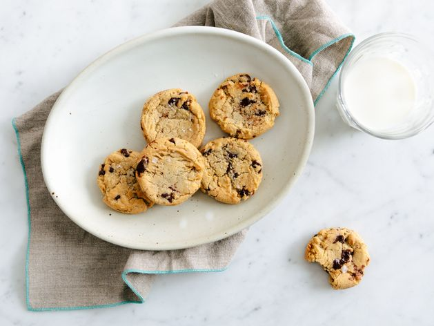 Salted Chocolate Chip Cookies wide display