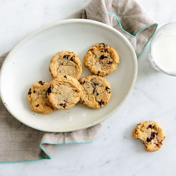 Salted Chocolate Chip Cookies narrow display