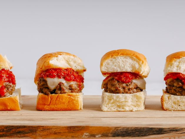 Sausage Sliders wide display