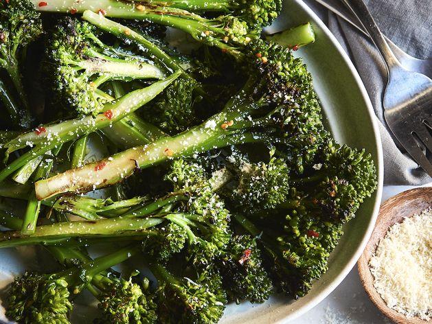 Roasted Baby Broccoli wide display