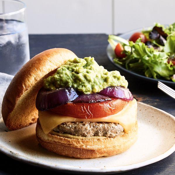 The California Turkey Burger narrow display