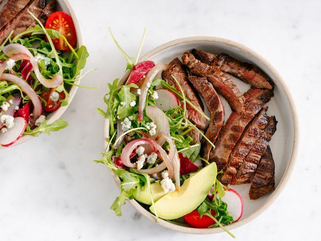 Brava Steak Salad wide display